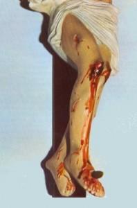 crocifisso di Teresa musco perde sangue