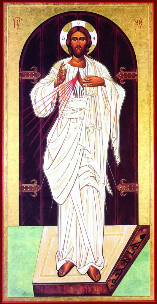 icona miracolosa di gesù misericordioso di ugo festa