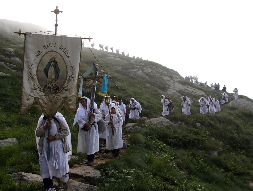 oropa processione