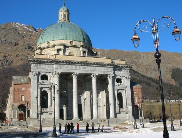 santuario di oropa basilica superiore