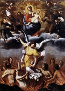 carracci_lodovico_anime del purgatorio