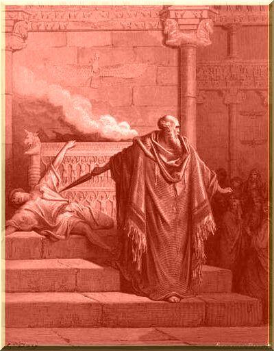 mattatia uccide il messaggero del re