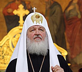 Il patriarca ortodosso di Mosca e di tutte le Russie