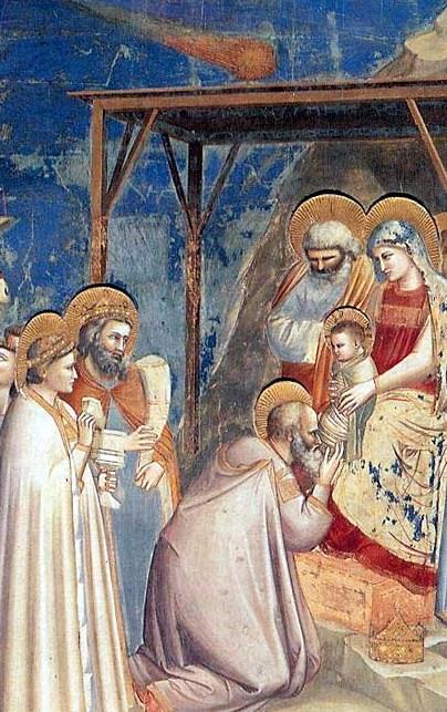 Adorazione dei Magi-Giotto-cappella degli Scrovegni