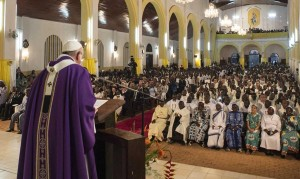 Papa Francesco nella Repubblica Centraficana
