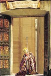 Porta Santa e Giovanni Paolo II