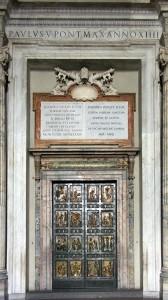 Porta Santa in San Pietro a Roma