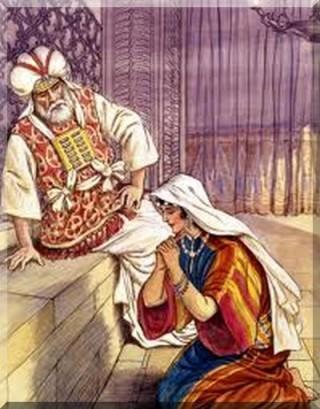 pianto di anna e profeta Eli