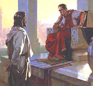 Gesù condannato a morte