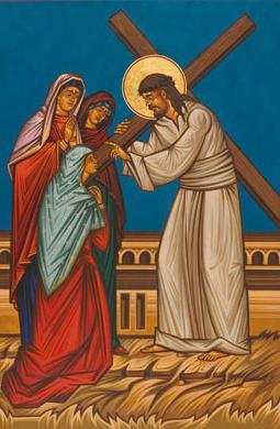 Gesù incontra le donne