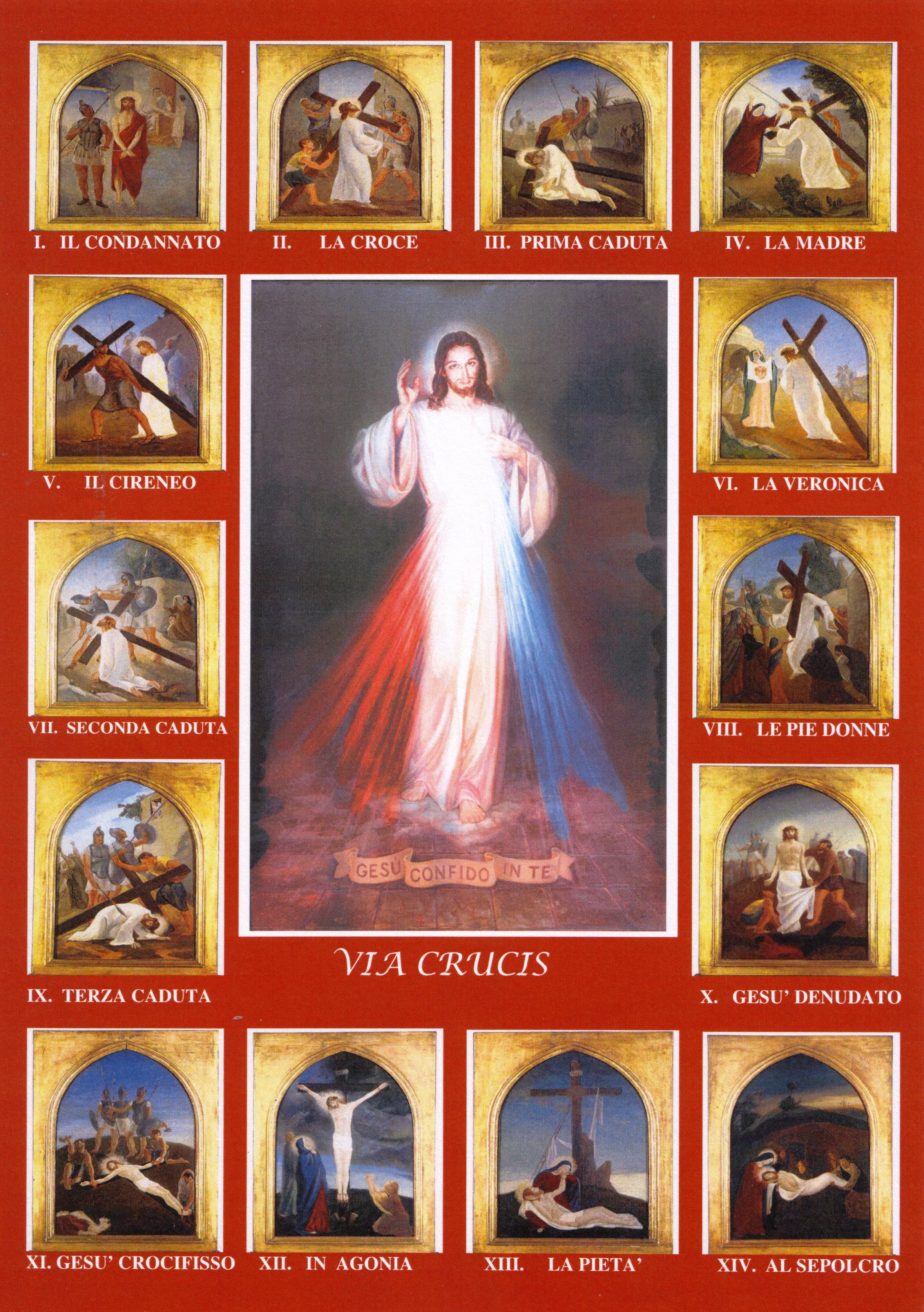 Risultati immagini per immagini della via crucis