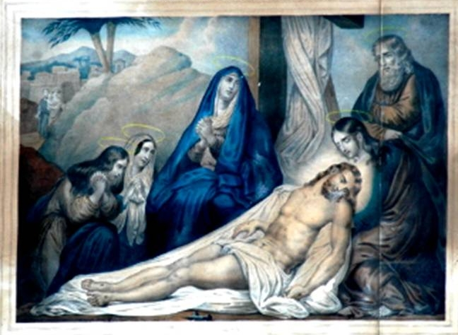 gesù deposto dalla croce