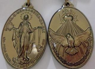 medaglia santa di jacarei