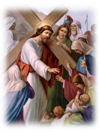 Gesù incontra le pie donne