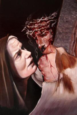 IV Stazione - Gesù incontra sua madre.s