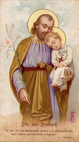 Immaginette-San-Giuseppe-col-Bambino