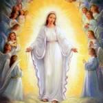 angeli e Maria Vergine