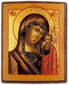 icona della vergine russa