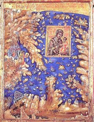 sacra icona monte Athos