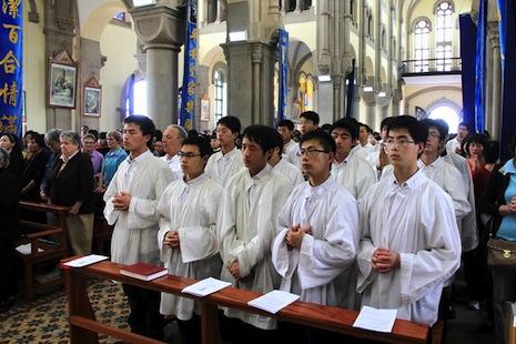 seminaristi cinesi