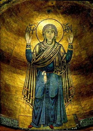 vergine orante kiev santa sofia