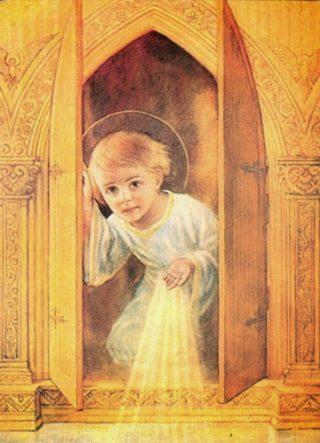 Gesu Bambino nel Tabernacolo