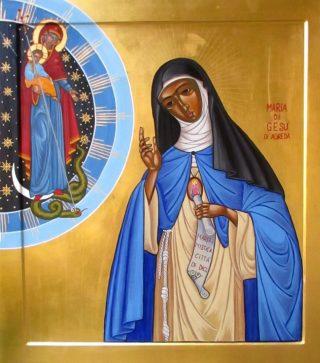 Venerabile Maria di Gesù di Agreda 1