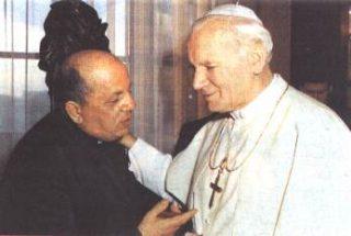 DON STEFANO GOBBI E GIOVANNI PAOLO II