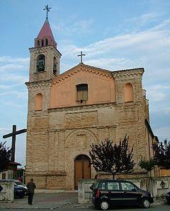 madonna del fuoco di Pescara vecchia chiesa