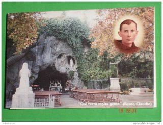 Beato Claudio Granzotto riproduzione della grotta di Lourdes