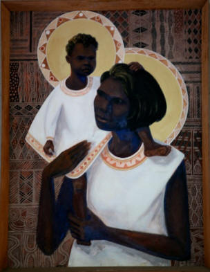 Madonna Aborigena di Darwin