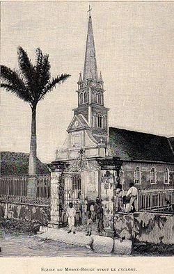 Nostra Signora della Liberazione Morne-Rouge Martinique chiesa