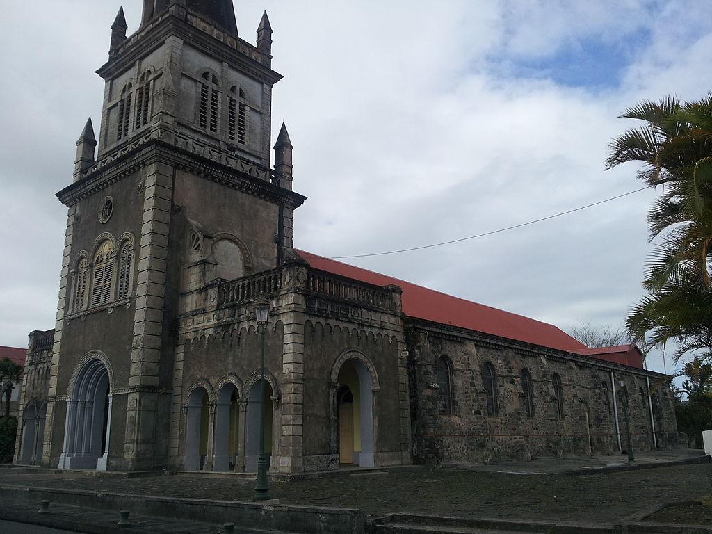 Nostra Signora della Liberazione Morne-Rouge Martinique chiesa3