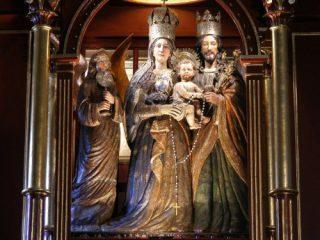 Virgen de la Peña di Bogotà.1
