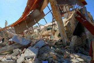 casa bombardata