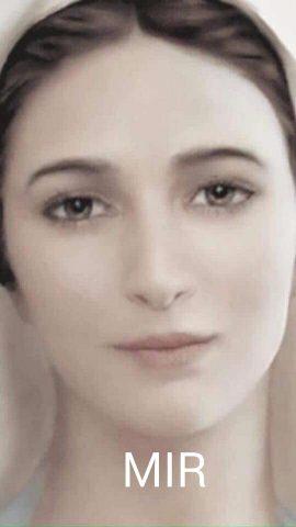 volto Regina della Pace Medjugorje