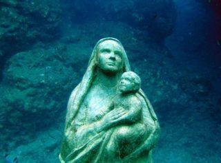 Madonna dei fondali di Lampedusa