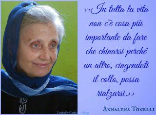 Annalena Tonelli citazione