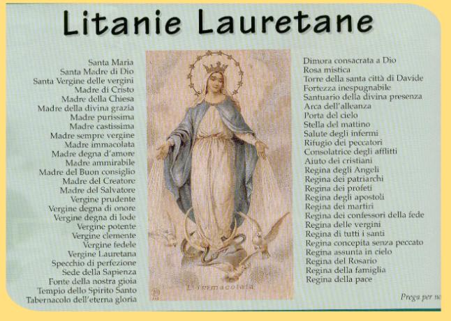 litanie-lauretane